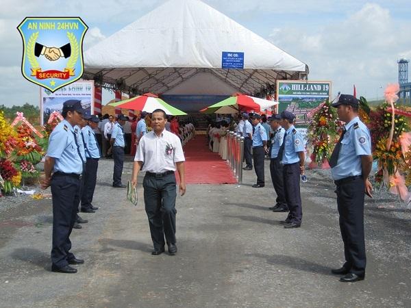 Dịch vụ bảo vệ sự kiện, lễ hội
