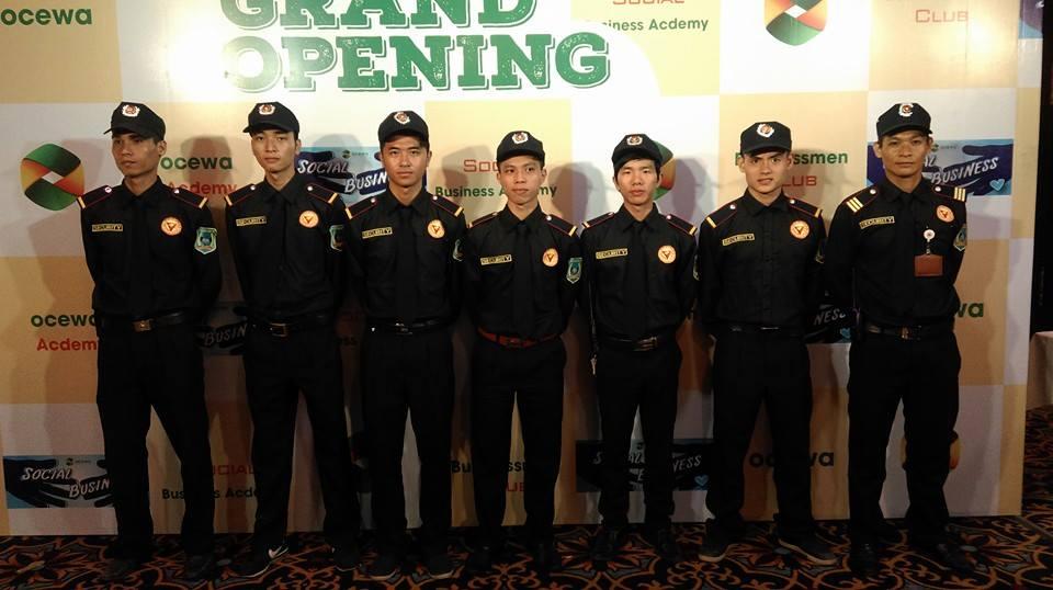 Dịch vụ bảo vệ sự kiện tại Hà Nội đảm bảo an toàn