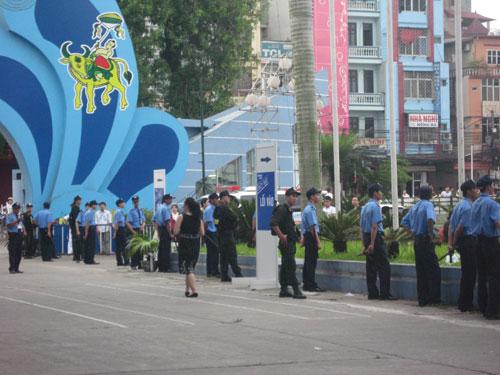 Công ty bảo vệ sự kiện tại Hà Nội
