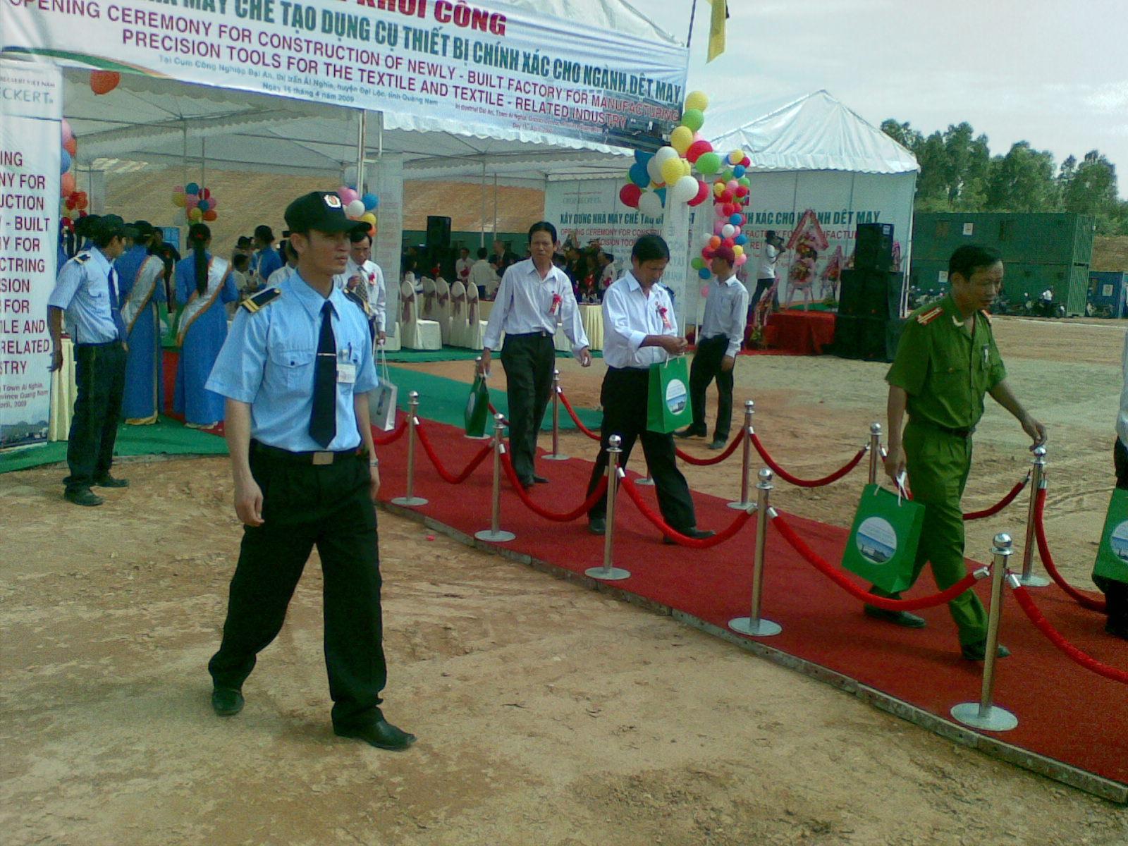 Các dịch vụ tại công ty bảo vệ tại quân Thanh Xuân