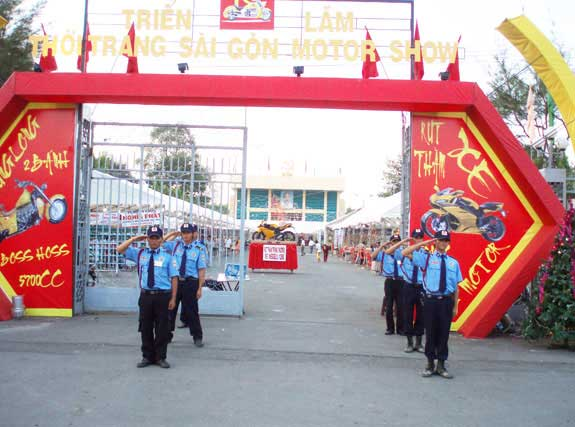 Bảo vệ chuyên nghiệp- công ty bảo vệ sự kiện tại hà nội