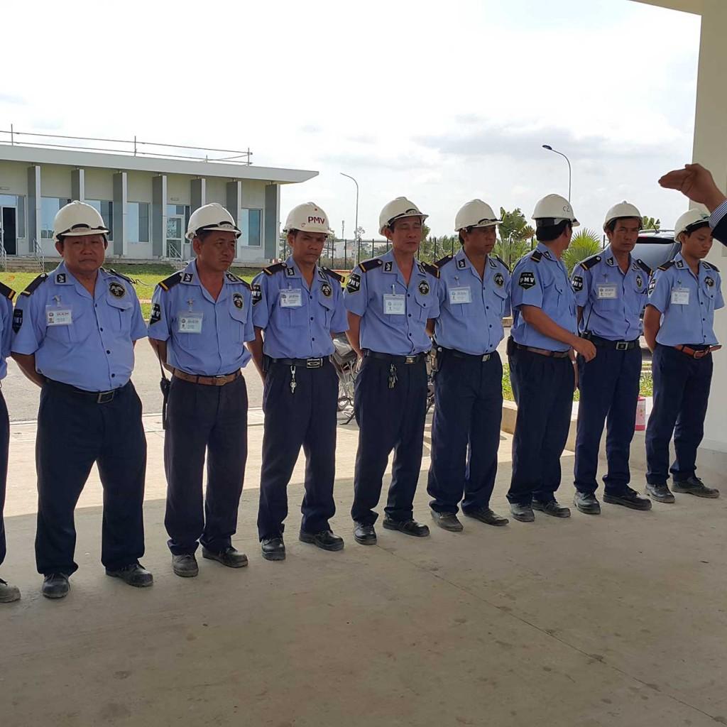 Dịch vụ bảo vệ chuyên nghiệp tại miền bắc hình thành phát triển