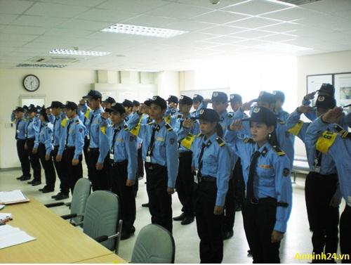 Đội ngũ tuyển chọn nhân viên của công ty bảo vệ tại quận hoàn kiếm