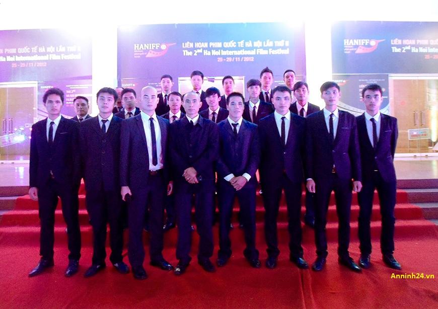Công ty bảo vệ sự kiện tại Hà Nội bảo đảm an ninh tuyệt đối