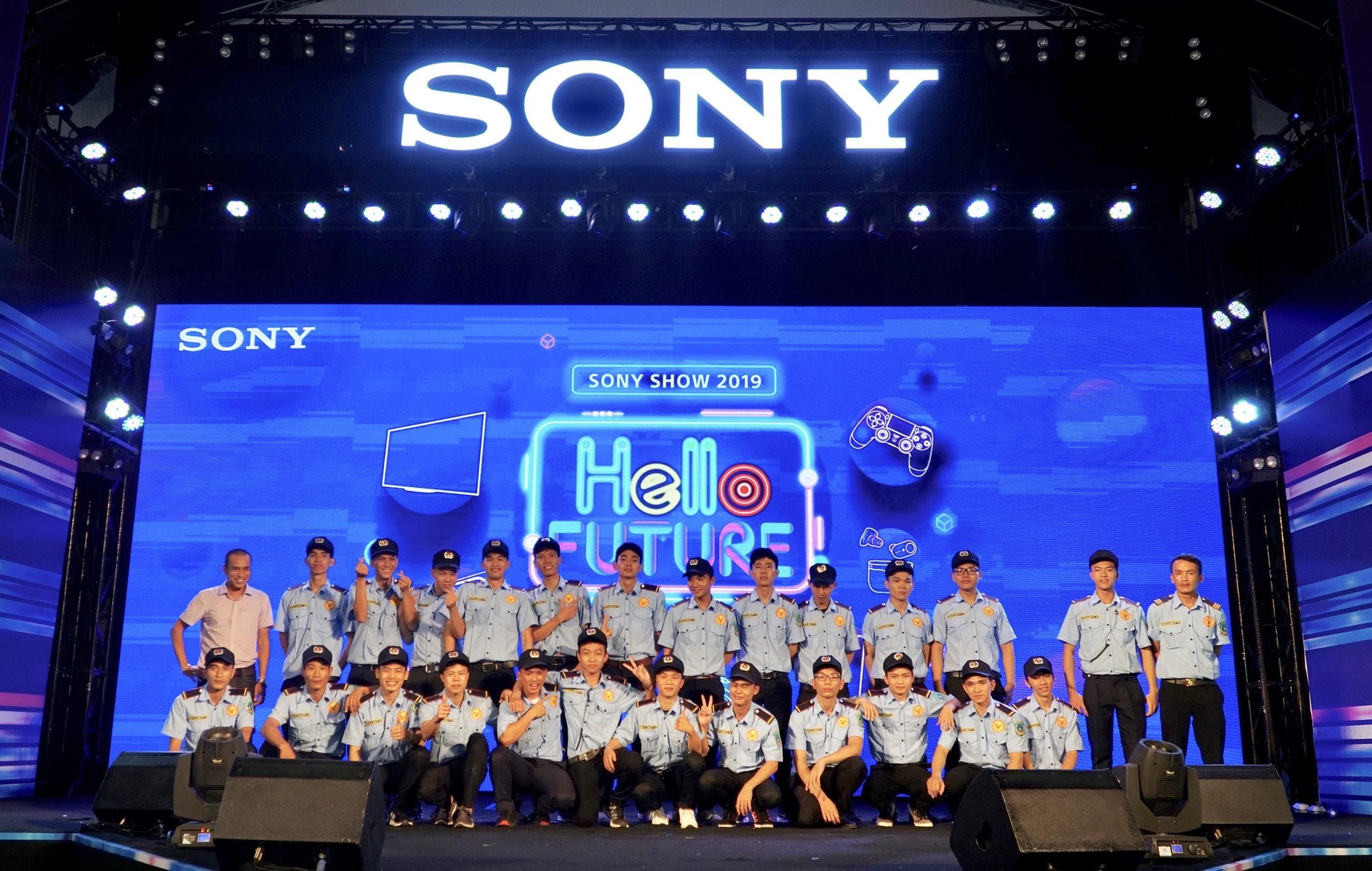Bảo vệ sự kiện SONY Show 2019 – Dịch vụ bảo vệ anninh24